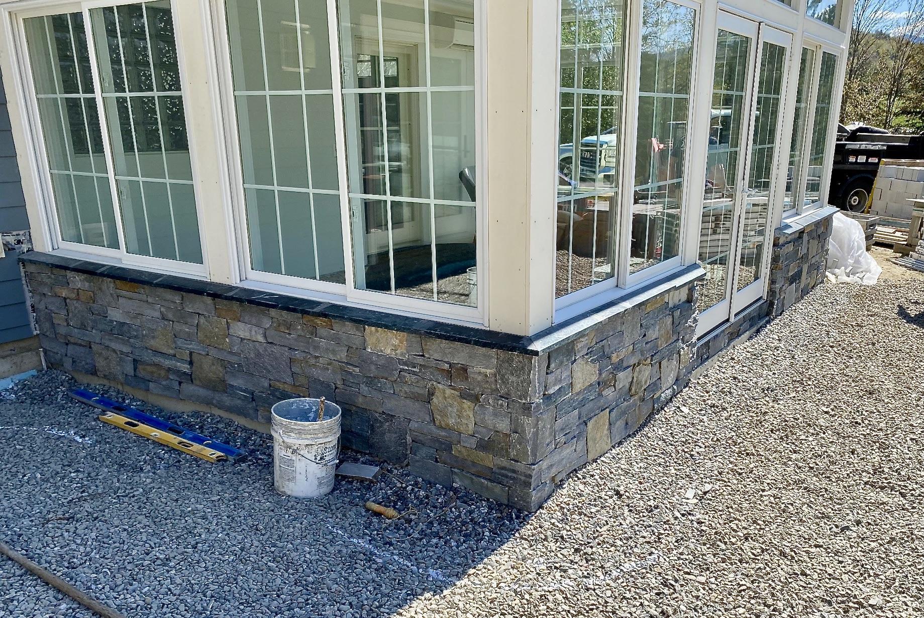 Vermont Stone Veneer Stowe